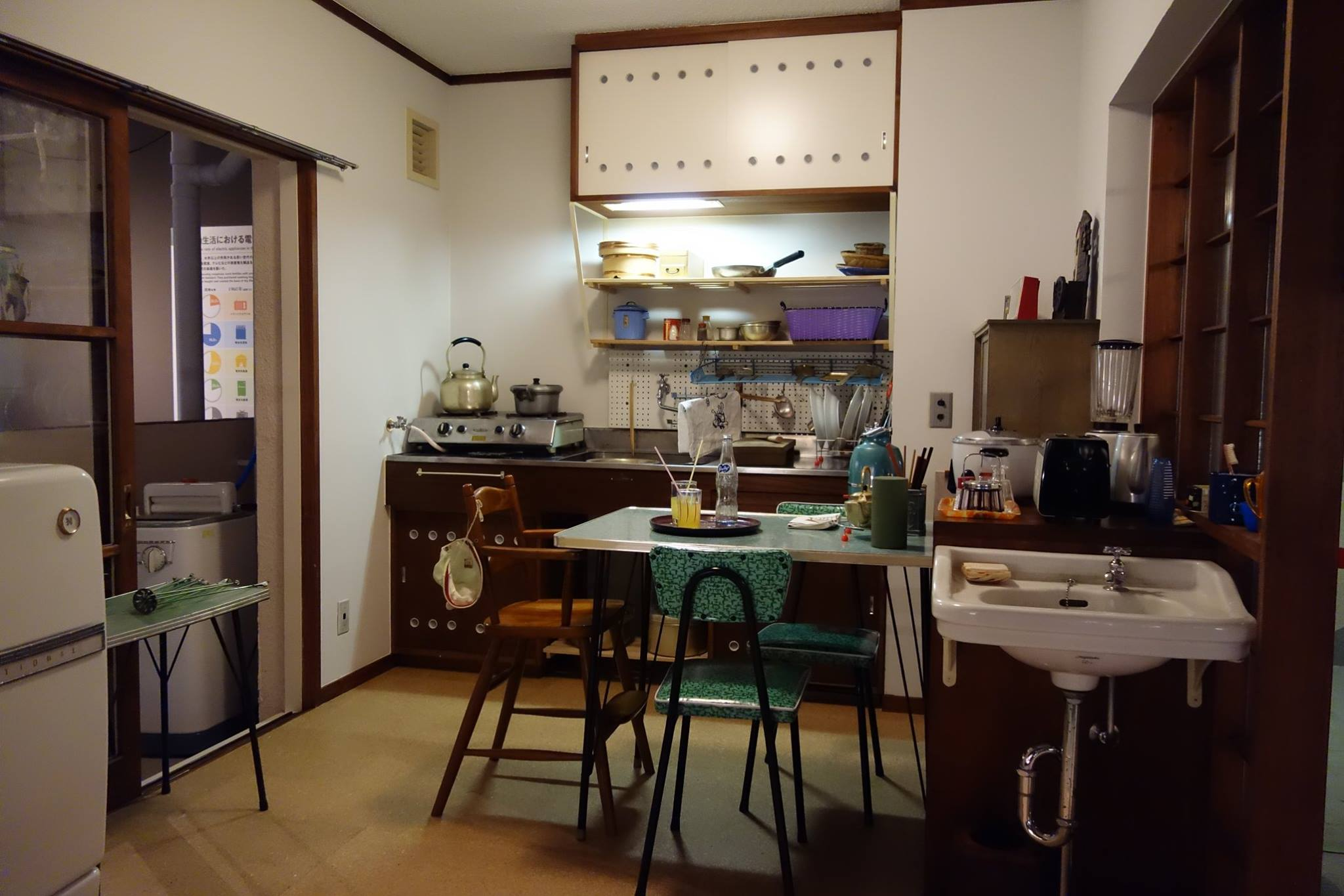 Rebuilt Room (of typical apartment room in the Showa era)
