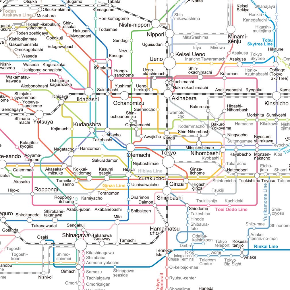 Yokohama Subway Map.Rail Travel In Tokyo Yokohama The Expat S Guide To Japan