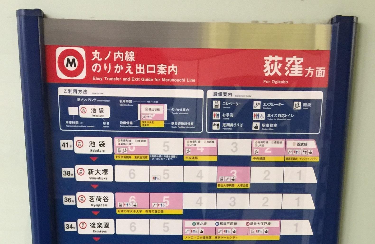 Metro map zoom