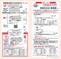 Undeliverable Item Notice (Japan Post)