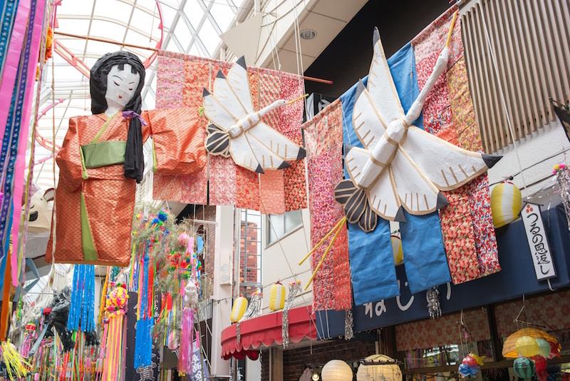 Asagaya Tanabata - Traditional designs are also popular