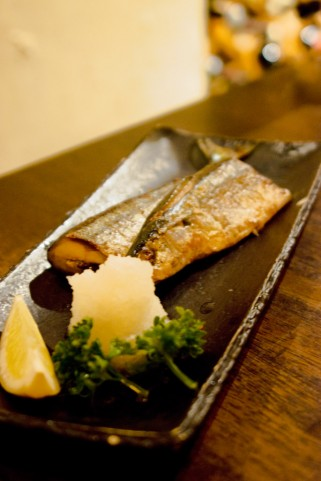 Grilled Sanma (Pacific Saury), Grilled