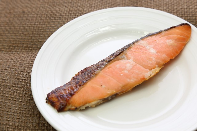 Grilled Sake (Chum Salmon)