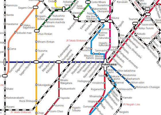 Yokohama Subway Map Pdf.Yokohama Metro Map Pdf
