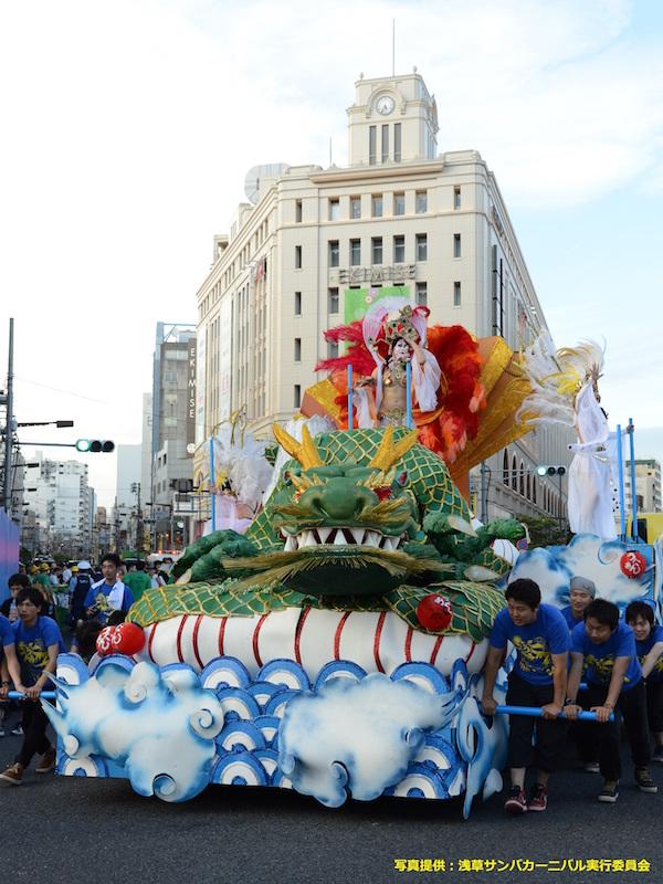 Asakusa Samba Carnival Parade Contest 2015