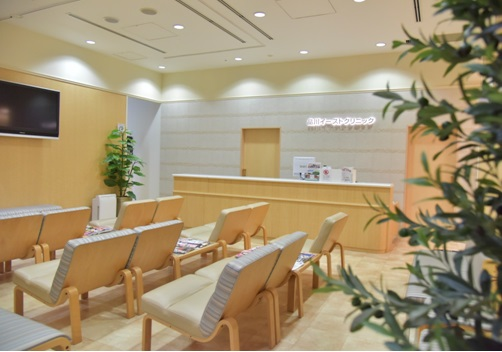 shinagawa east clinic waiting room jpeg